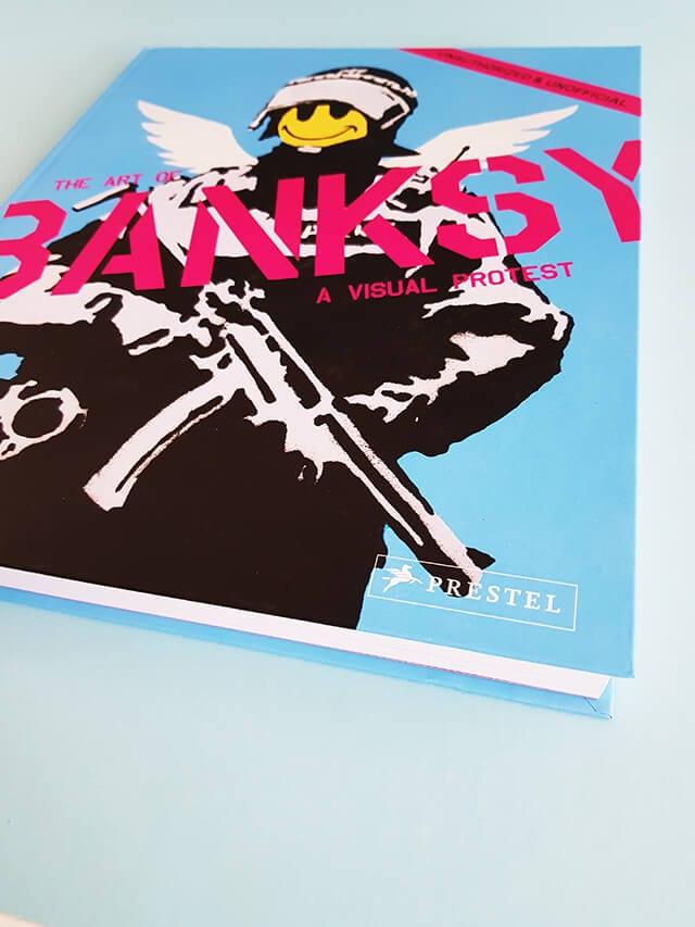 The Art of Banksy A Visual Protest Prestel Verlag Logo Bildband