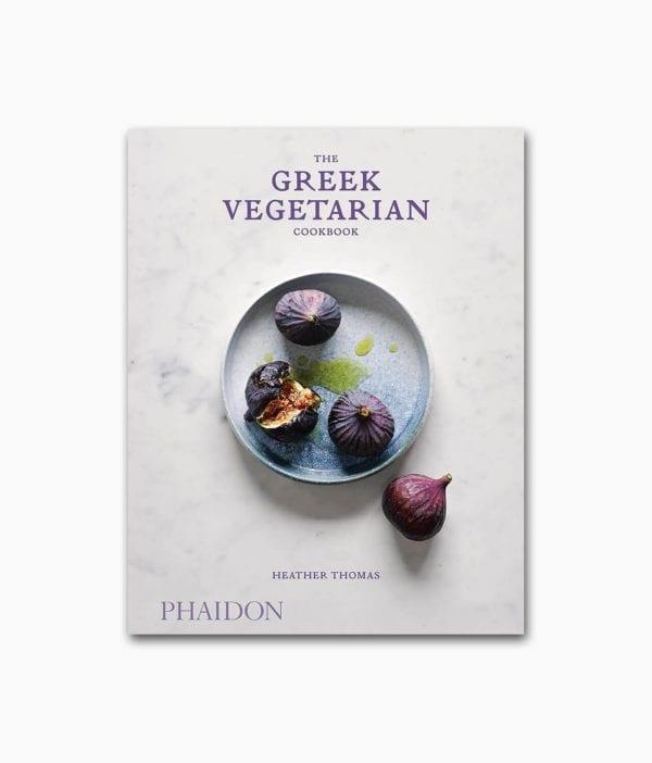 Cover des vegetarischen Kochbuches namens The Greek Vegetarian Cookbook Phaidon Verlag Buchcover