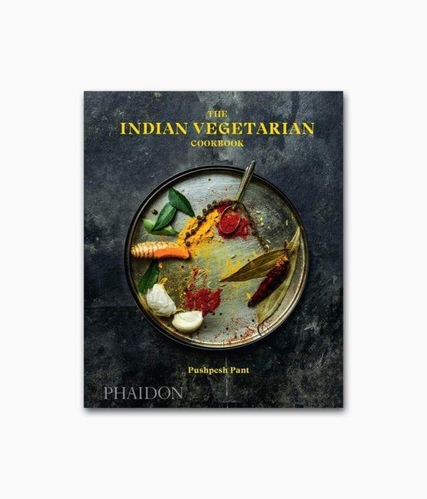 Cover des vegetarischen Kochbuches namens The Indian Vegetarian Cookbook Phaidon Verlag