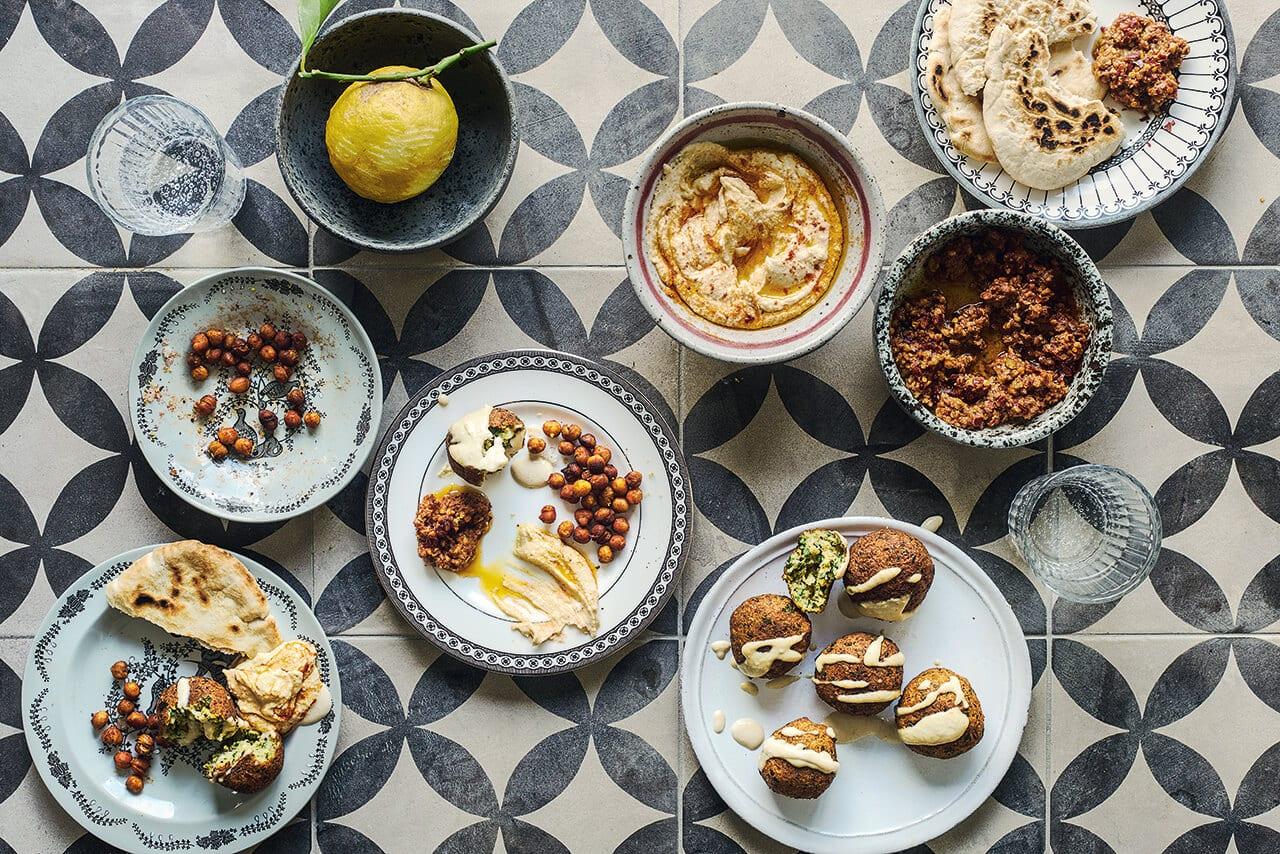 The Mezze Cookbook Phaidon Verlag aufgeschlagener Bildband