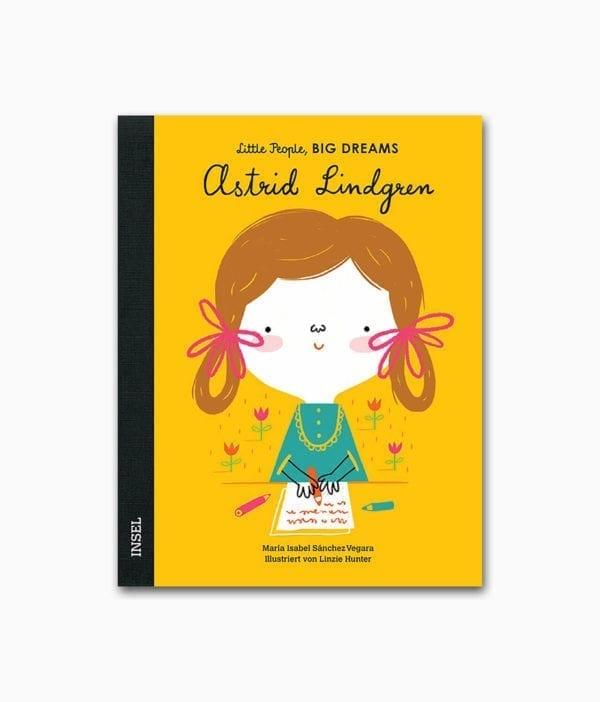 Astrid Lindgren Little People Big Dreams Insel Verlag Buchcover