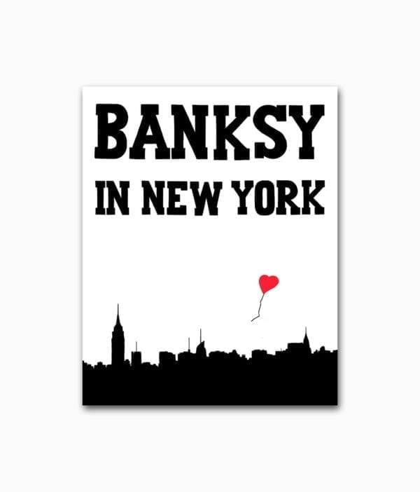 Banksy in New York Gingko Press Buchcover