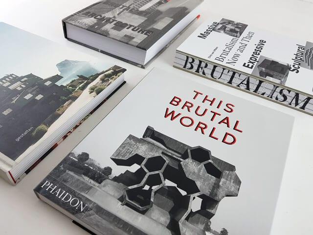 Brutalismus Bücher und Bildbände