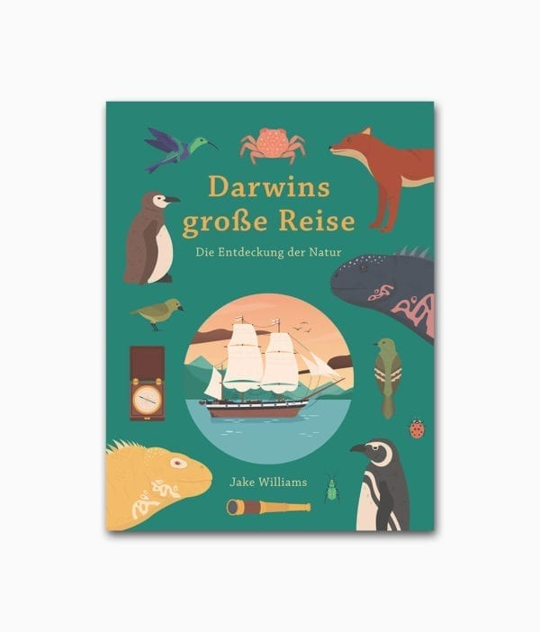Darwins große Reise Midas Verlag Buchcover