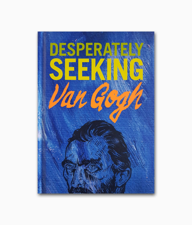 Cover der Künstlerbiografie über Van Gogh namens Gingko Press