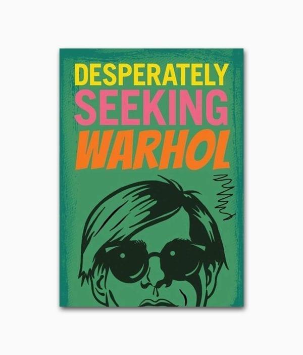 Cover des Buches über den berühmten Künstler Andy Warhol von Gingko Press