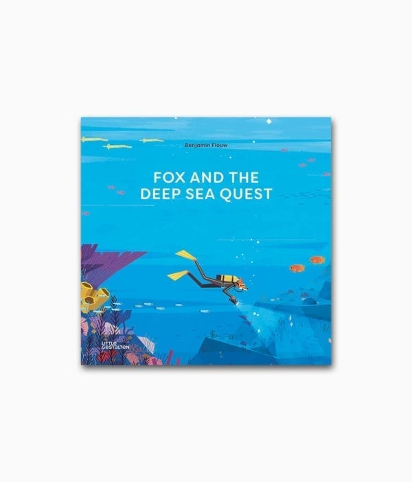 Fox and the Deep Sea Quest gestalten Verlag Buchcover