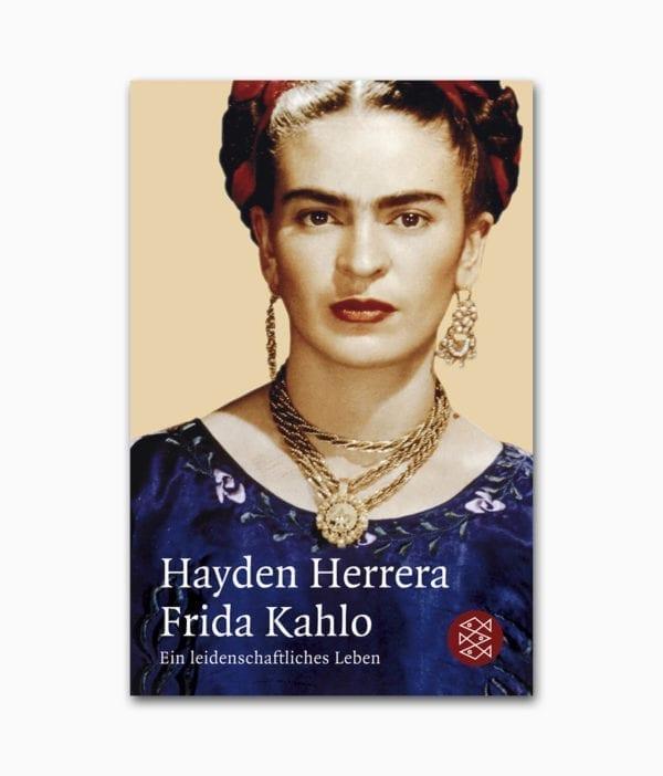 Frida Kahlo Ein leidenschaftliches Leben FISCHER Verlag Buchcover