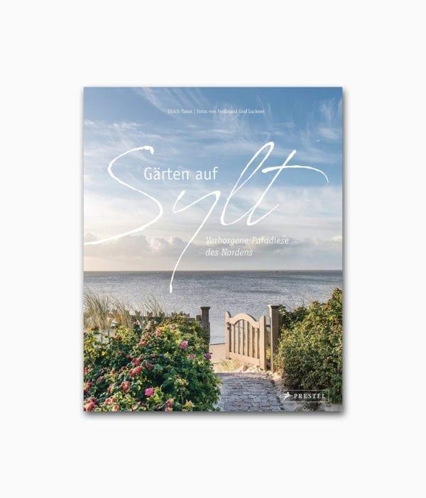 Cover vom Natur Buch über Gärten auf Sylt vom Prestel Verlag