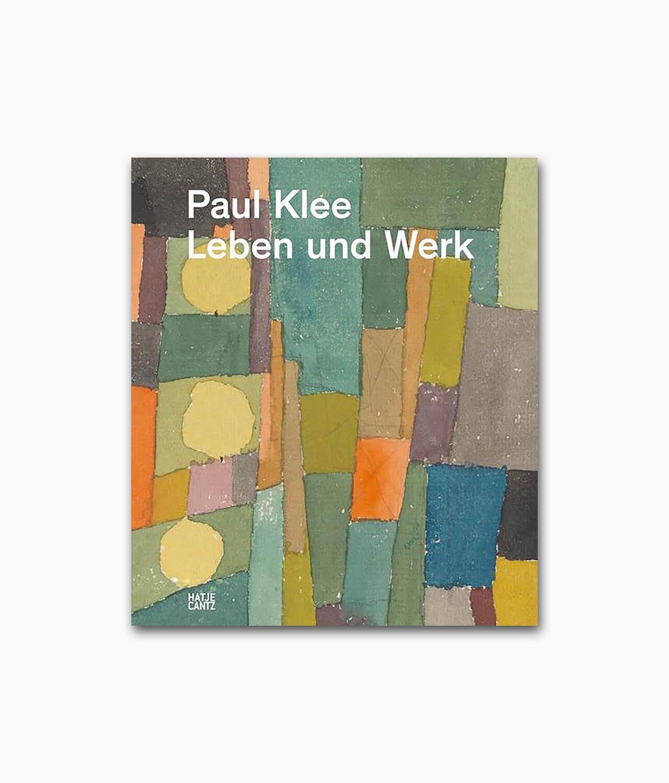 Paul Klee Leben und Werk Hatje Cantz Verlag Buchcover Kunstbuch