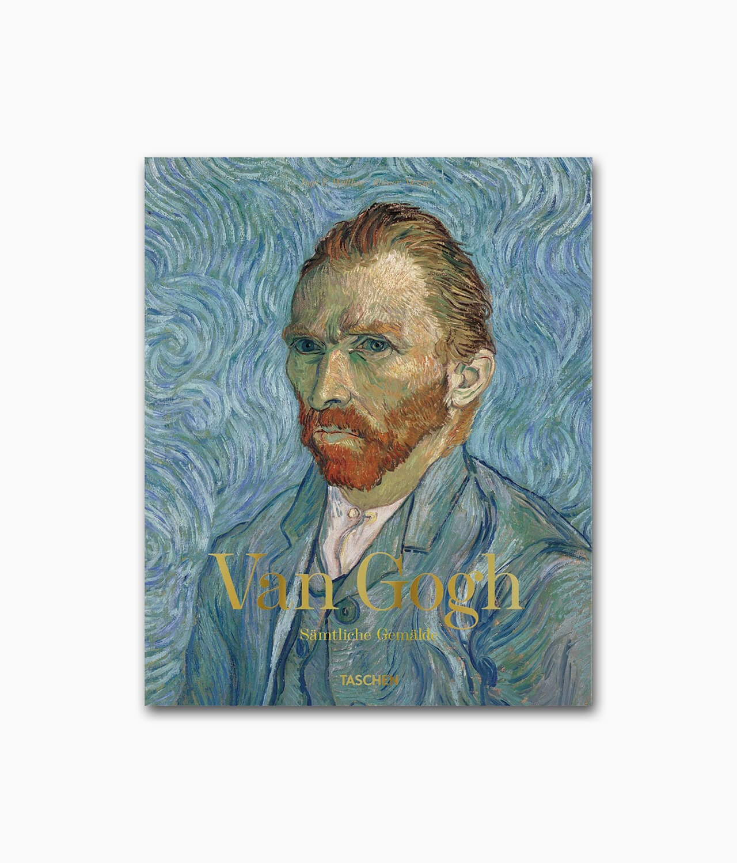 Cover des Kunstbuches über den berühmten Künstler Van Gogh Sämtliche Gemälde TASCHEN Verlag