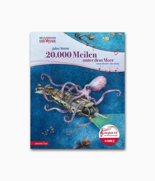 20.000 Meilen unter dem Meer Annette Betz Ueberreuter Verlag Buchcover
