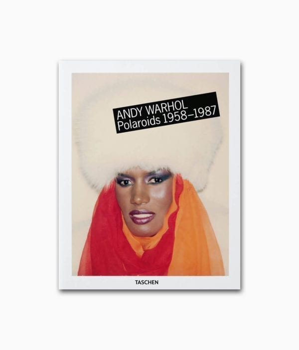 Cover vom Fotografiebuch über den berühmten Künstler Andy Warhol und seine Polaroids aus dem TASCHEN Verlag
