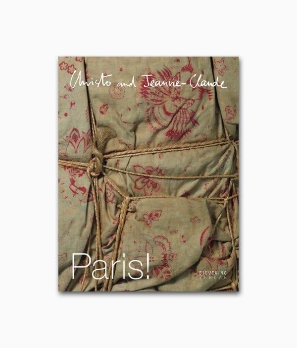 Cover des Kunstbuches über die berühmte Künstler Christo and Jeanne-Claude vom Sieveking Verlag