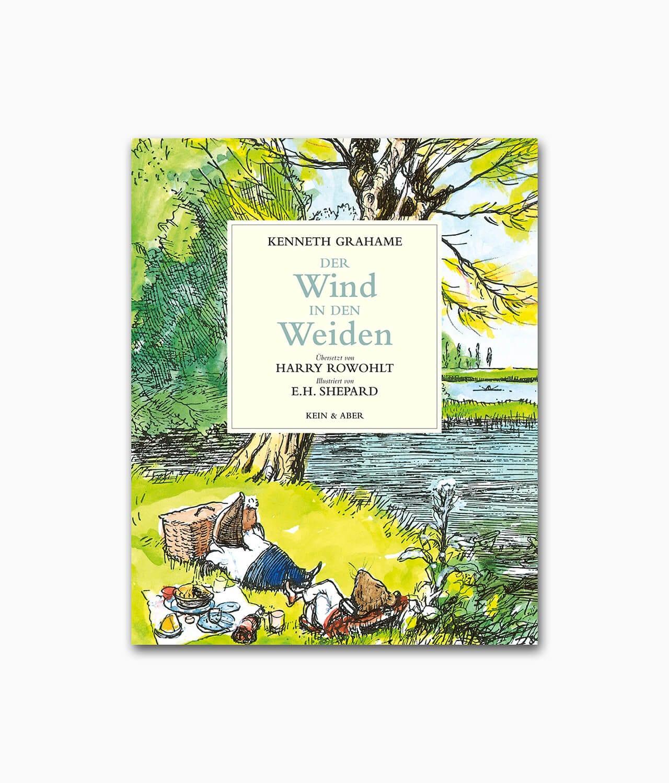 Cover vom Kinderbuch Klassiker Der Wind in den Weiden vom Kein & Aber Verlag