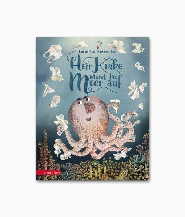 Cover vom Kinderbuch über das Meer und Umweltschutz vom Annette Betz Verlag