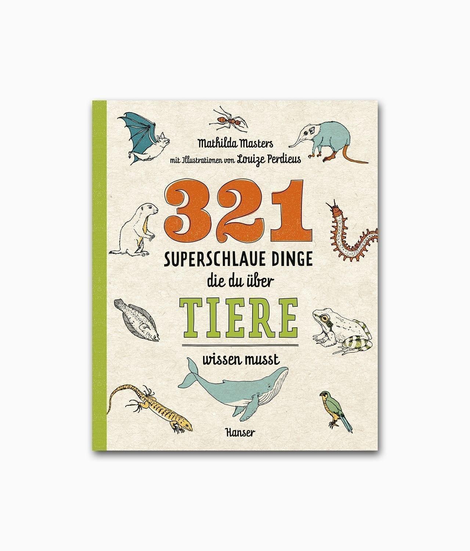 Cover vom Kinderbuch über Tiere vom Hanser Verlag