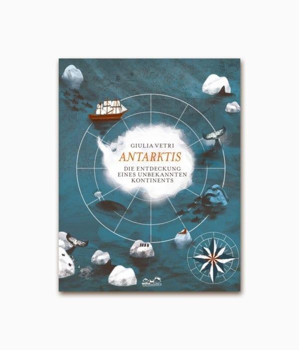 Cover vom Kinderbuch über das Polargebiet Antarktis vom E.A. Seemann Verlag