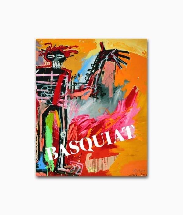Cover des Kunstbuches über den berühmten Graffiti & Street Art Künsler Jean-Michel Basquiat vom Hatje Cantz Verlag