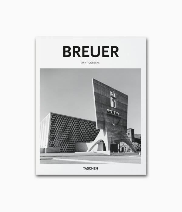 Cover des Buches über den berühmten Architekten aus dem Brutalismus namens Marcel Breuer aus dem TASCHEN Verlag