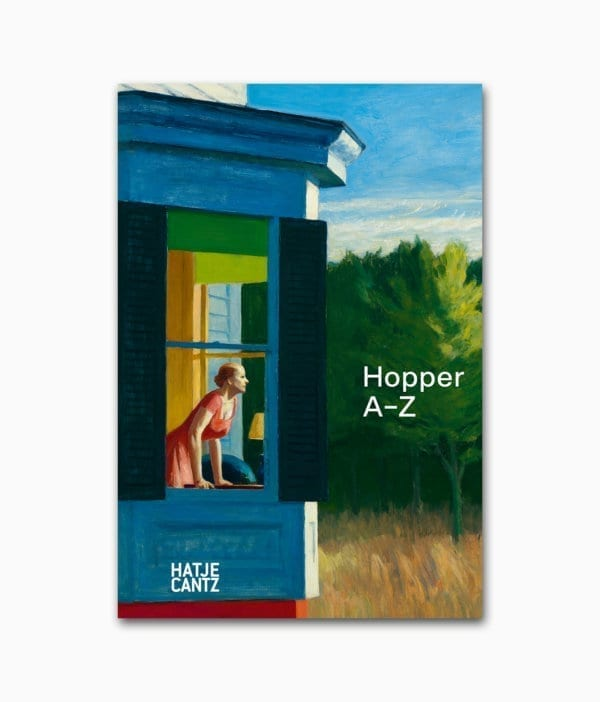 Edward Hopper A–Z Hatje Cantz Verlag Buchcover
