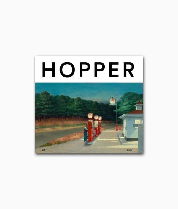 Edward Hopper Ein neuer Blick auf Landschaft Hatje Cantz Verlag Buchcover