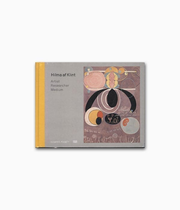 Cover des Ausstellungskatalogs der berühmten Künstlerin Hilma af Klint Hatje Cantz Verlag