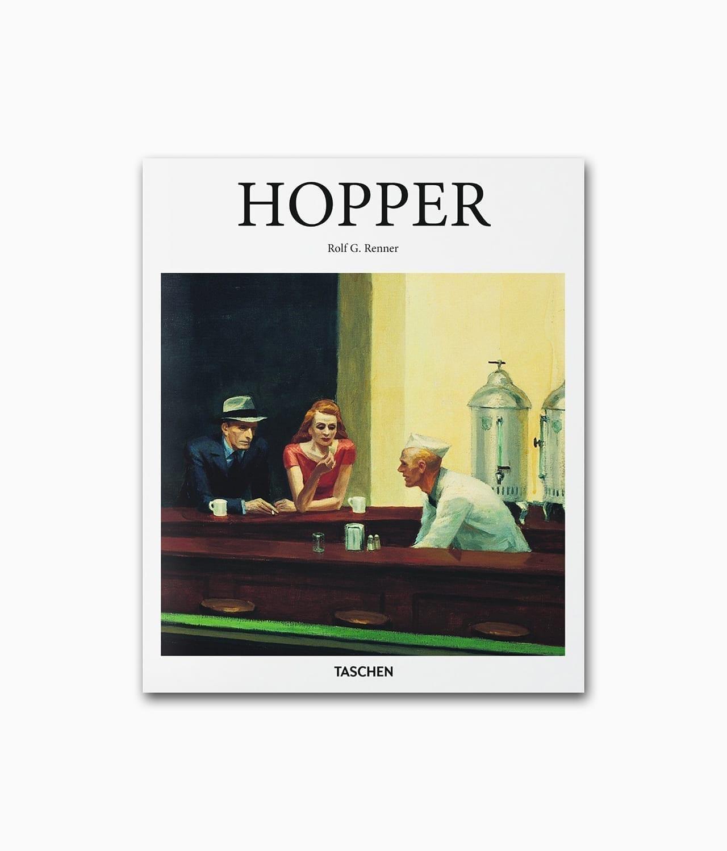 Cover vom Kunstbuch über den berühmten Künstler Edward Hopper vom TASCHEN Verlag Kleine Reihe