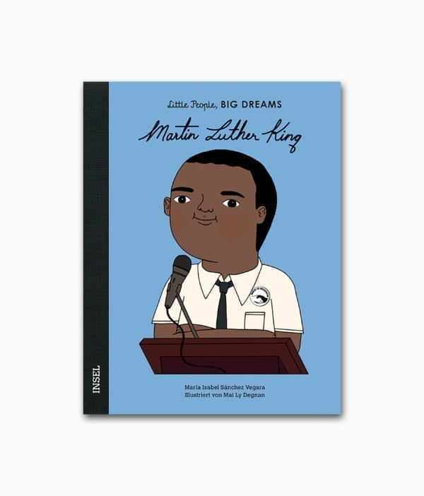 Martin Luther King Little People Big Dreams Insel Verlag Buchcover