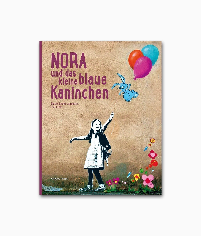 Nora und das kleine blaue Kaninchen Gingko Press Buchcover Kinderbuch