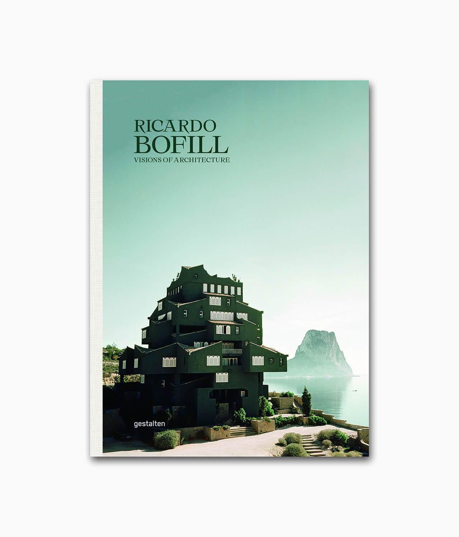 Cover des Buches über den berühmen Architekten des Brutalismus namens Ricardo Bofill aus dem gestalten Verlag