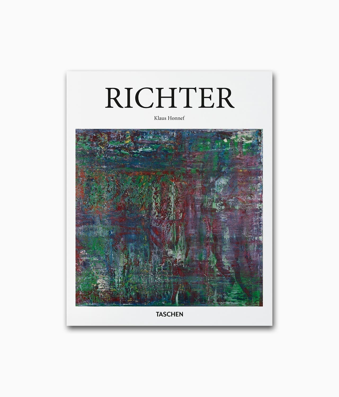 Cover vom Kunstbuch über den deutschen Künstler Gerhard Richter vom TASCHEN Verlag Kleine Reihe