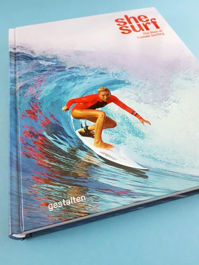 She Surf gestalten Verlag Buchcover Bildband