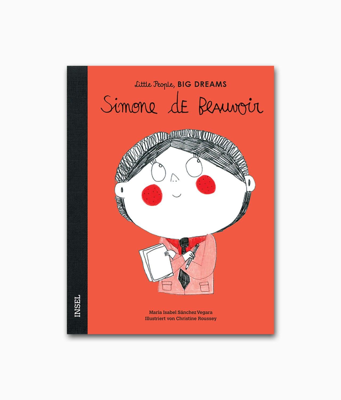 Cover vom Kinderbuch über Simone de Beauvoir Insel Verlag