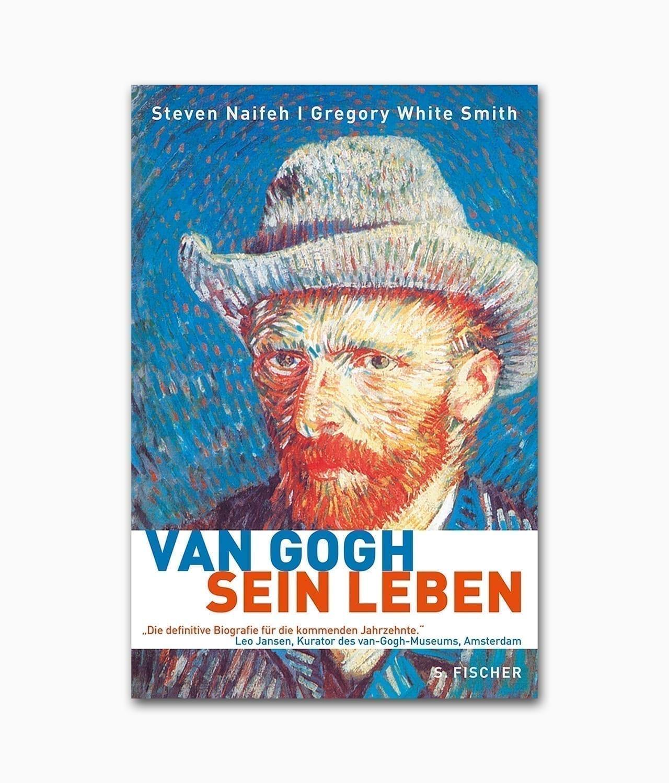 Cover der Künstlerbiografie über Vincent van Gogh vom Fischer Verlag