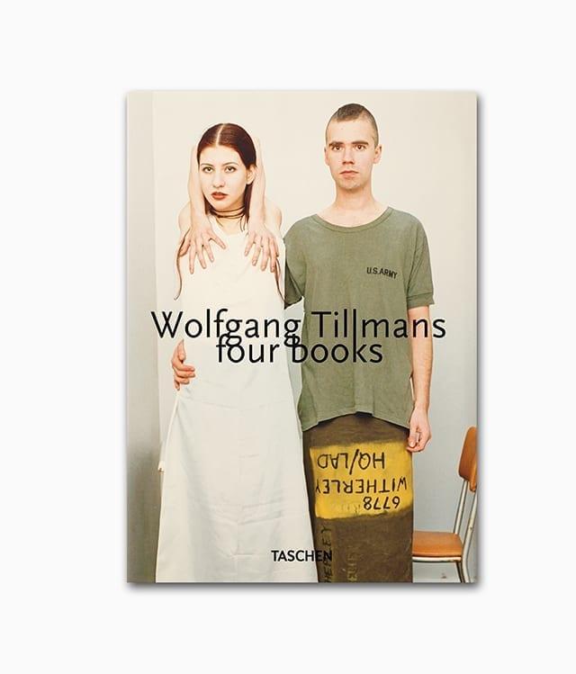 Wolfgang Tillmans four books TASCHEN Verlag Buchcover