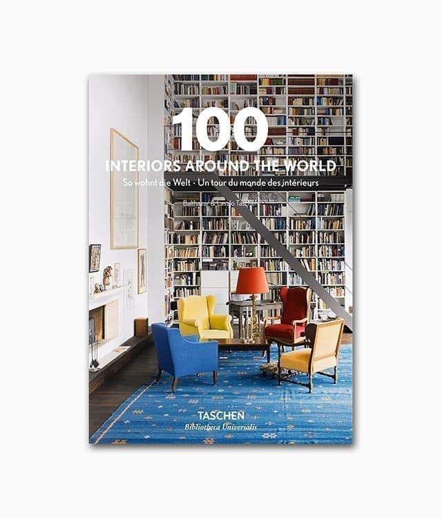 100 Interiors Around the World TASCHEN Verlag Buchcover