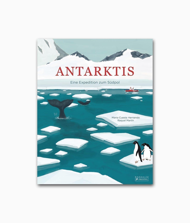 Cover vom Kinderbuch über die Antarktis vom Prestel Junior Verlag