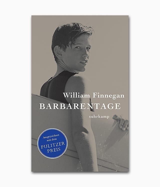 Barbarentage Suhrkamp Verlag Buchcover