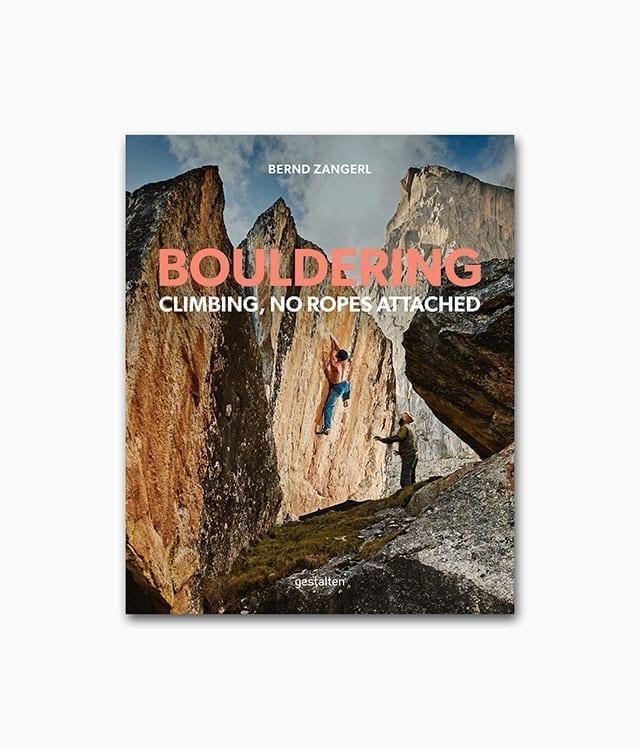 Cover vom Abenteuer Buch über Bouldering in den Bergen vom gestalten Verlag