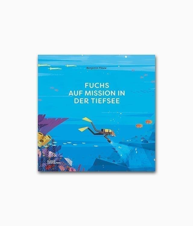 Fuchs auf Mission in der Tiefsee kleine gestalten Verlag Buchcover