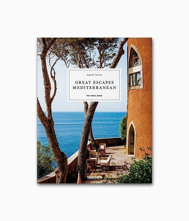 Cover vom Interior Deisgn Buch Great Escapes Mediterranean vom TASCHEN Verlag