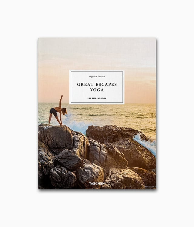 Great Escapes Yoga TASCHEN Verlag Buchcover