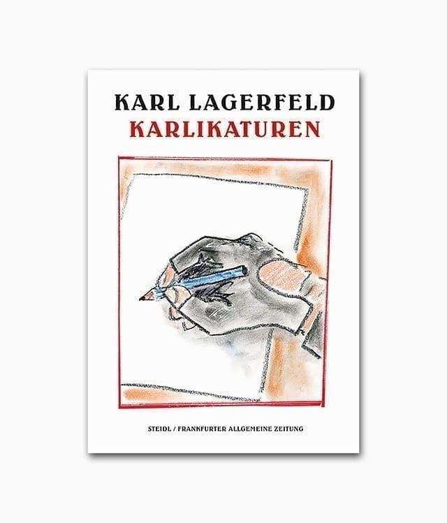 Karl Lagerfeld Karlikaturen Steidl Verlag Buchcover