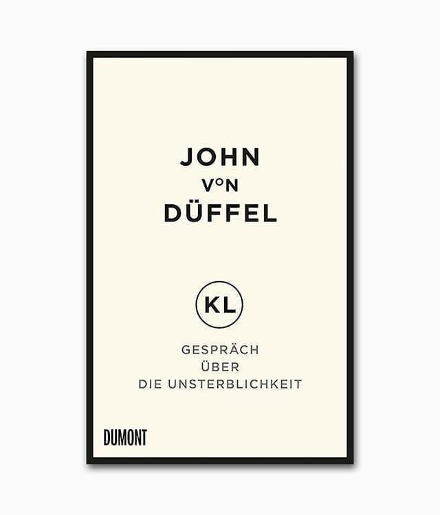 Gespräch über die Unsterblichkeit DuMont Verlag Buchcover