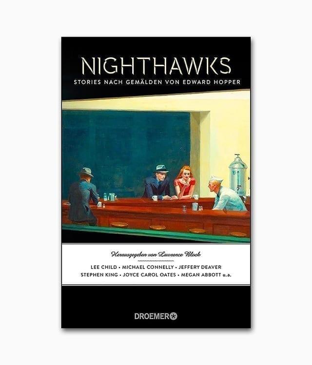 Cover des Kunstbuches über den berühmten Künstler Edward Hopper aus dem Drömer Knauer Verlag