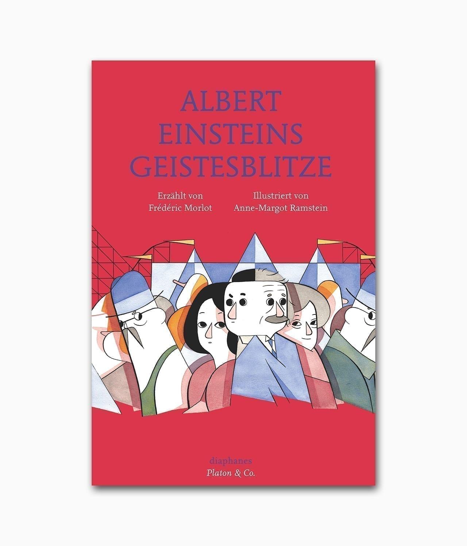 Albert Einsteins Geistesblitze Diaphanes Verlag Buchcover