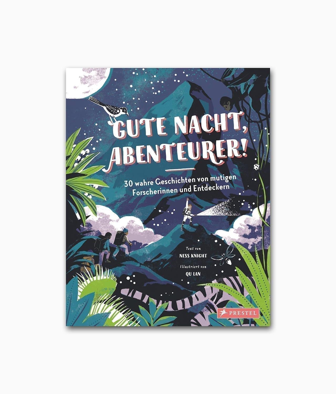 Gute Nacht Abenteurer Prestel Verlag Buchcover