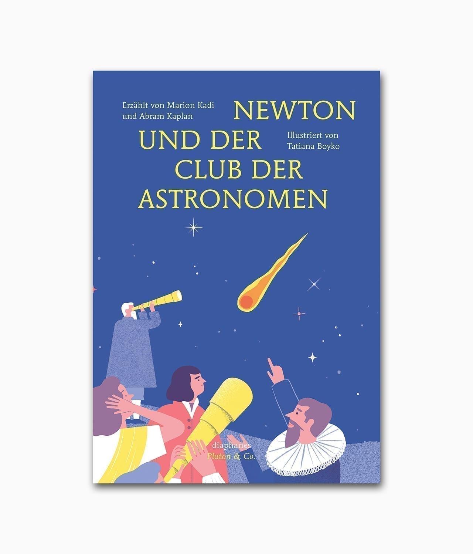 Newton und der Club der Astronomen Diaphanes Verlag Buchcover
