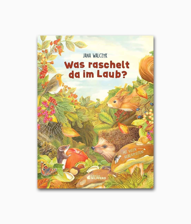Was raschelt da im Laub G&G Verlag Buchcover